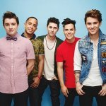 Merry Christmas Happy Holidays - Midnight Red